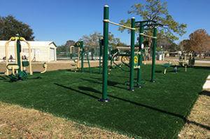 Tomlinson Park Exercise Equipment