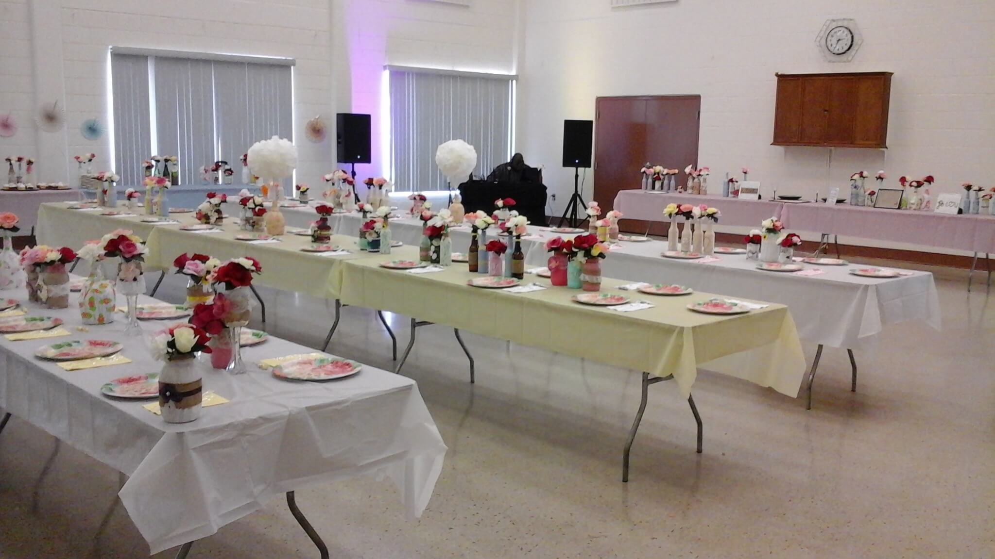 Recreation Center Ready for a Party