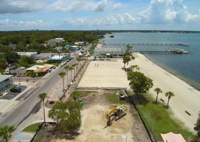 Guflport Shore Blvd Volleyball courts