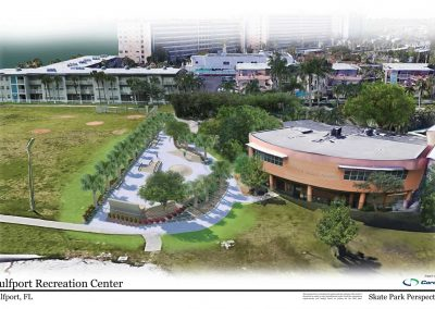 Gulfport Recreation Center Rendering
