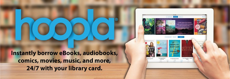 Hoopla - Instantly borrow eBooks audiobooks, movies and more