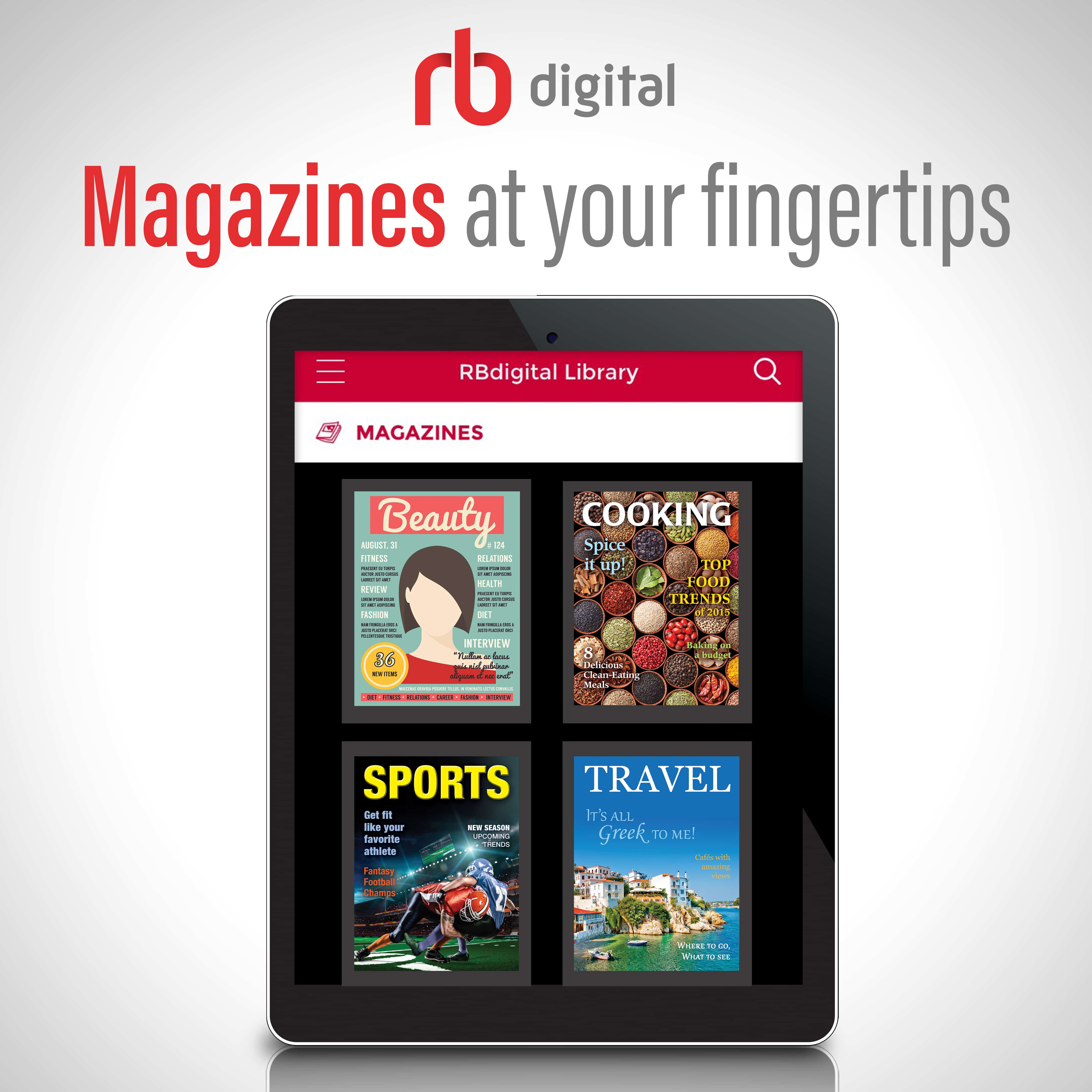 RB Digital Download Magazines