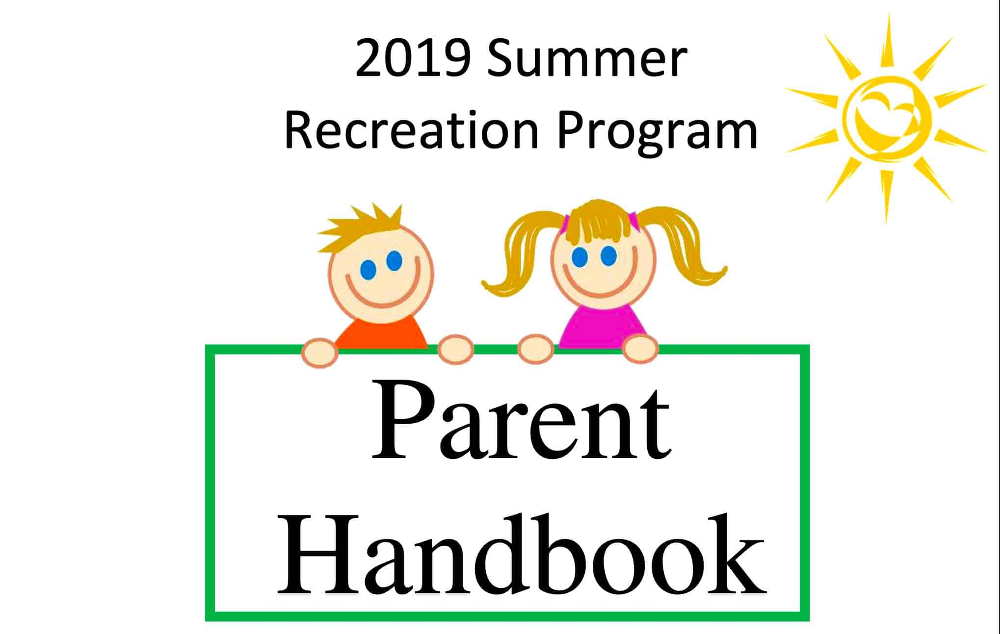 2019 Summer Recreation Handbook