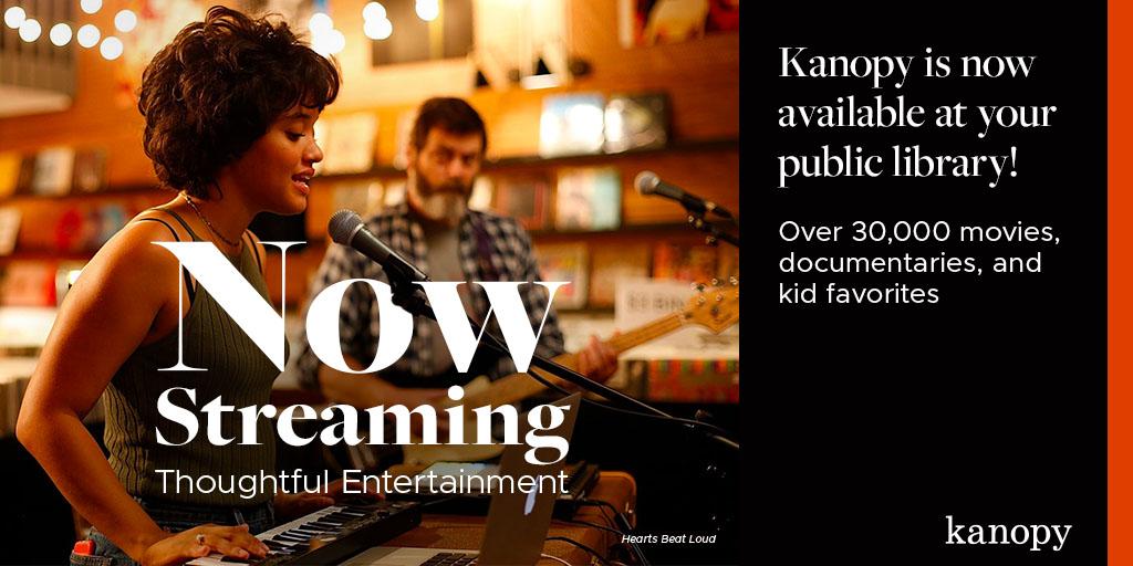 Stream with Kanopy