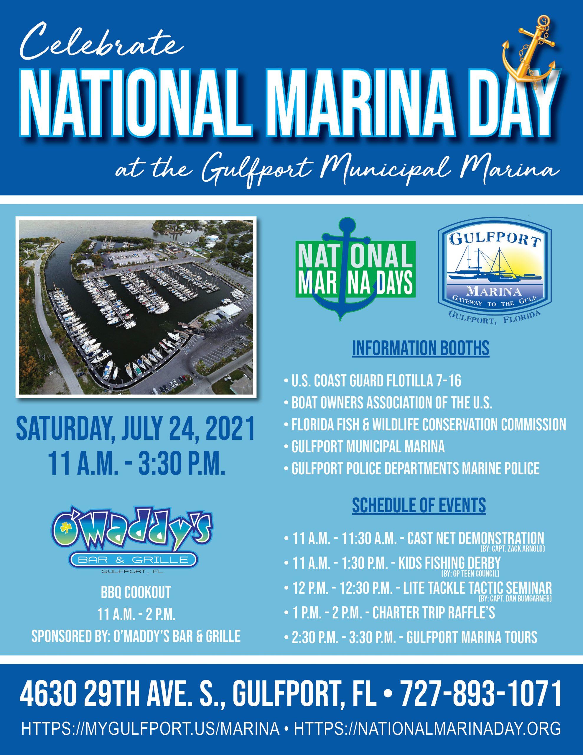 Nationa Marina Day Flyer