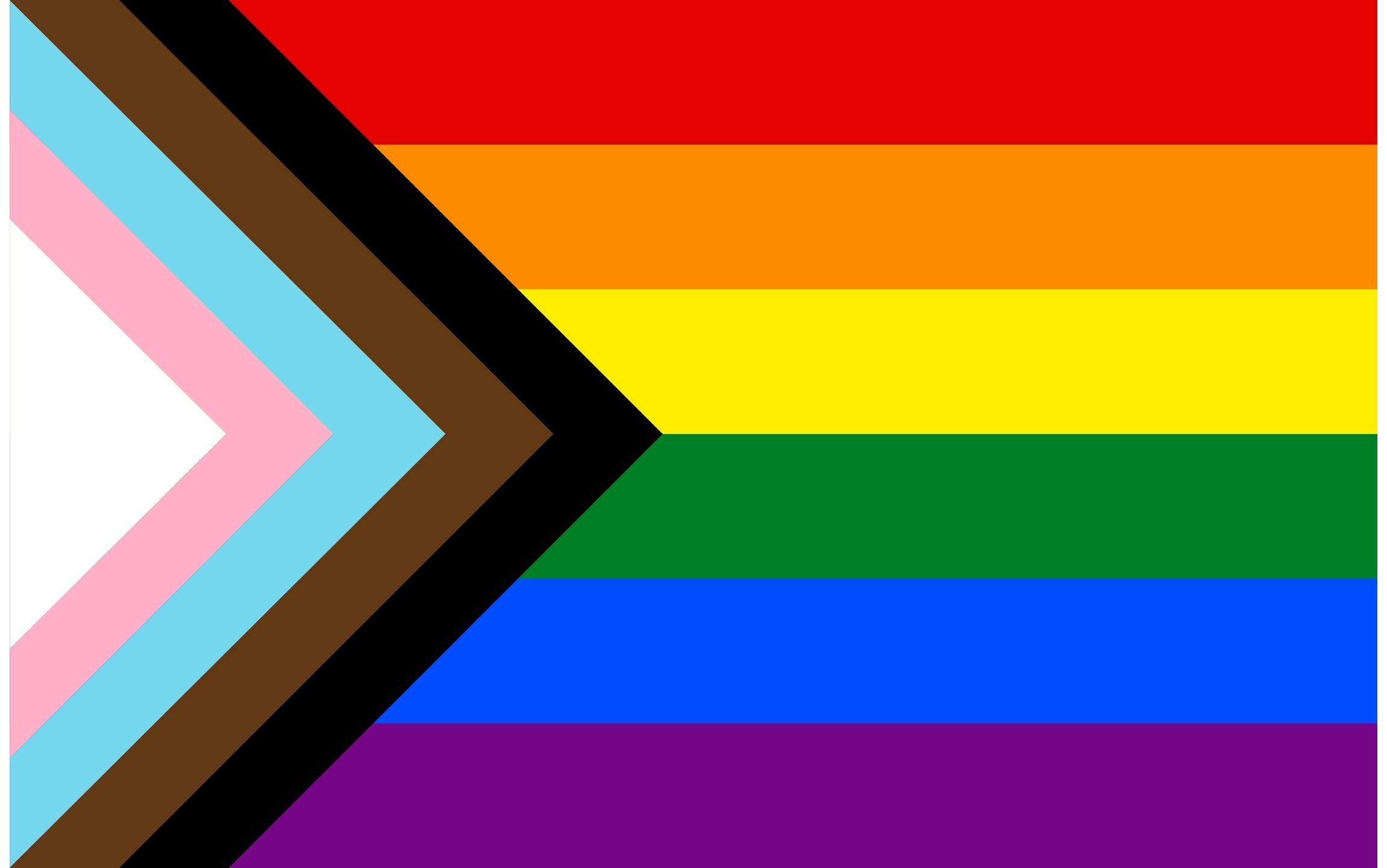 Progress Pride Flag Daniel Quasar version