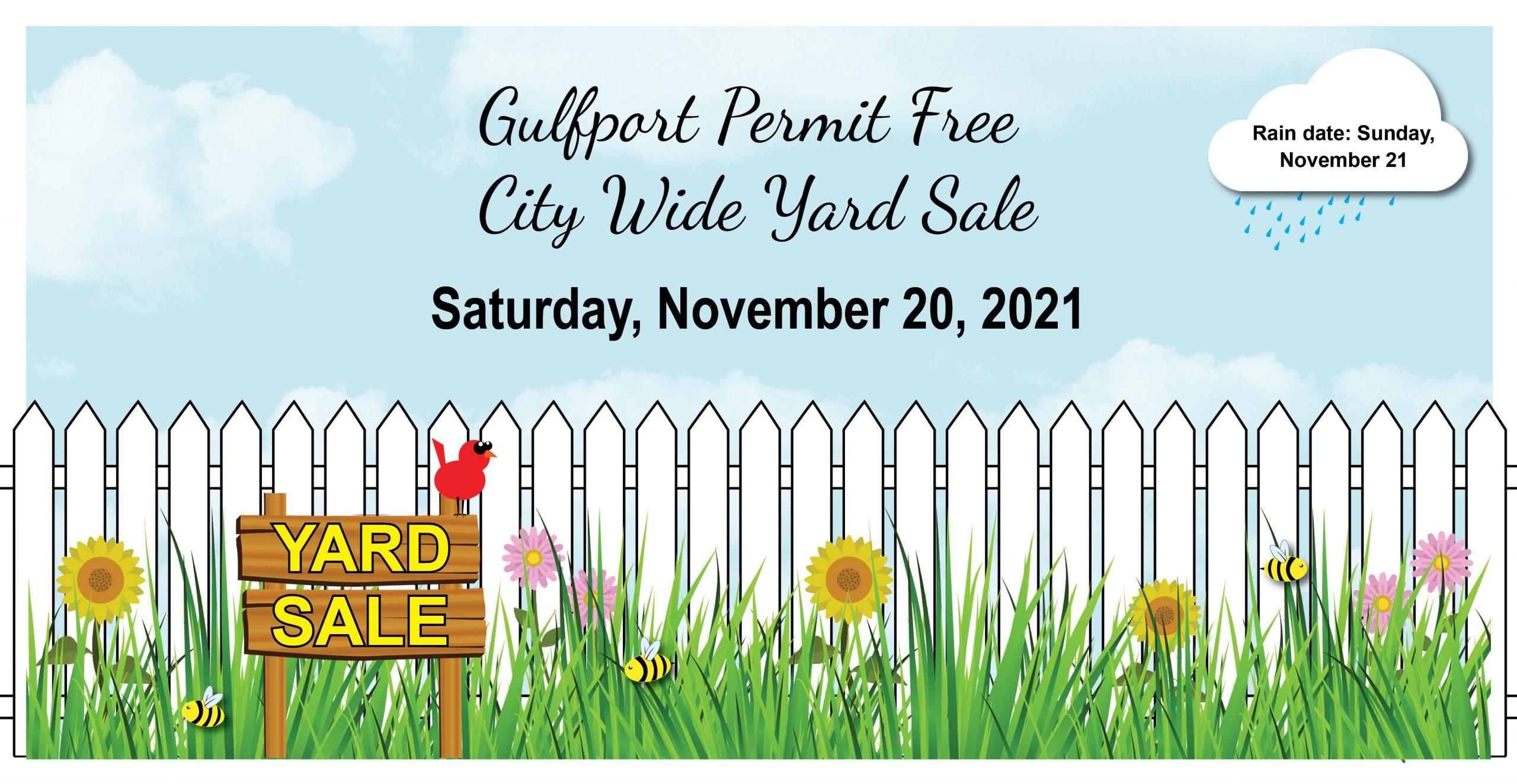 Gulfport Permit Free City Wide Yard Sale