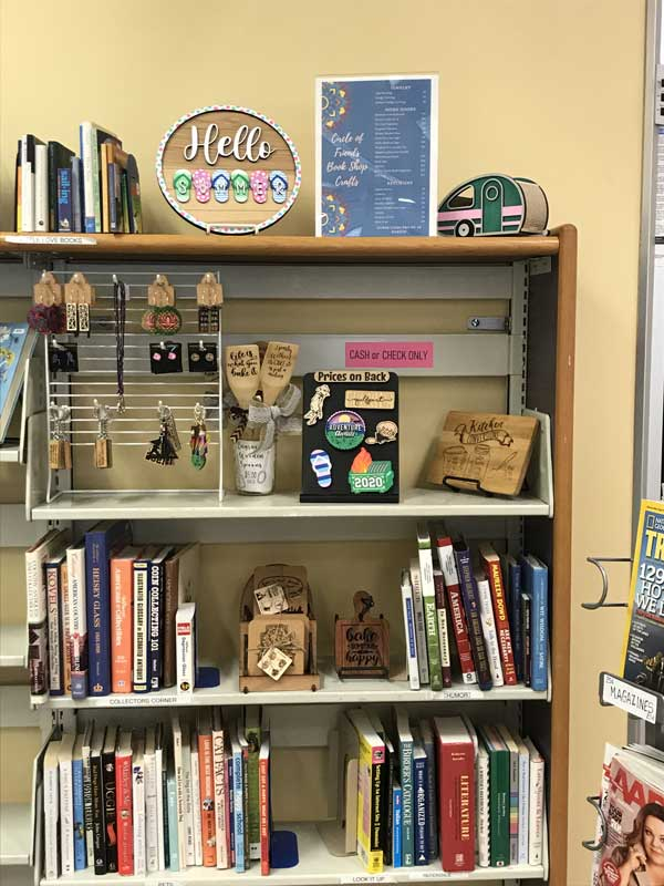 Friends Bookstore- Crafts for Sale