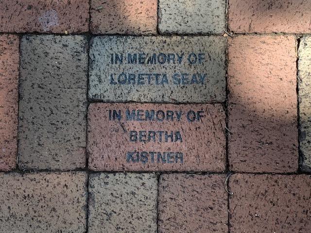 In Memory of Loretta Seay and Bertha Kistner